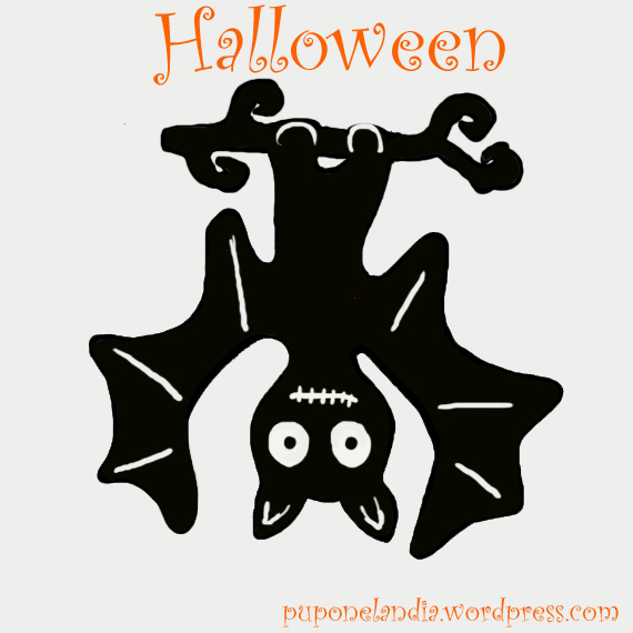 idea camiseta halloween, murcielago - puponelandia.wordpress.com