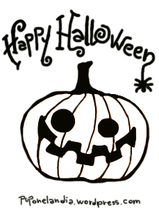 idea camiseta halloween, calabaza - puponelandia.wordpress.com