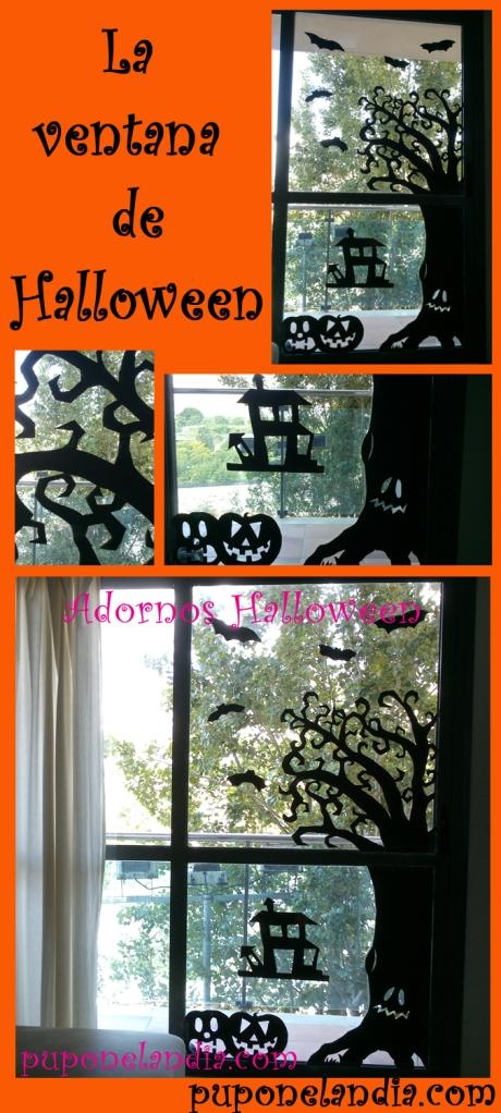 ventana halloween - puponelandia.com