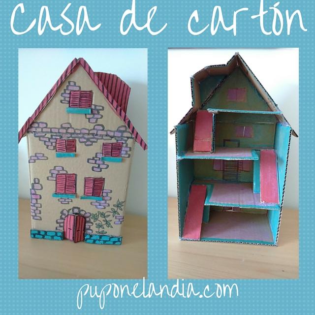 Casa de cartón - puponelandia.com