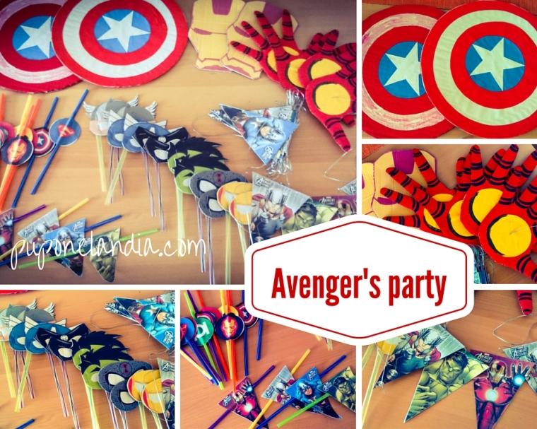 Avenger's Party - puponelandia.com