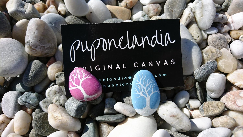 Fotos de piedras pintadas a mano - puponelandia.com